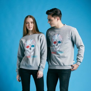 British Fashion Brand -Baker Street- Skull Printed Sweater