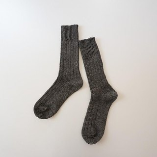 Linen 100% original socks BLACK