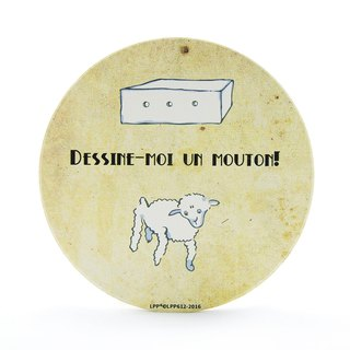 The Little Prince Classic authorization - water coaster: [help] I painted sheep (round / square)
