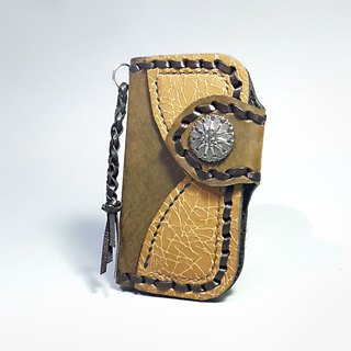 [ANITA hand-made limited edition ‧ Mania] Ray Knight style hand-woven leather key cases / card holder - Specials