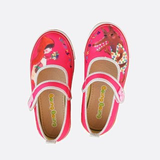 Story shoes - Pink (Little Red Riding Hood)