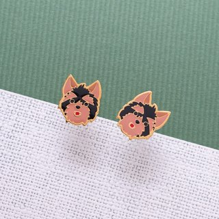 Yorkshire hand made earrings