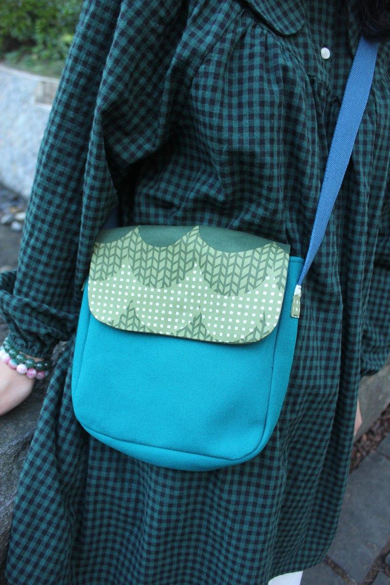 【福爾摩沙】磁扣斜背包/肩背包/側背包/方形包