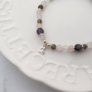 Bigman Taipa [Constellation Lucky Stone Series] Capricorn × Natural Stone Beads × Handmade Silver Bracelet