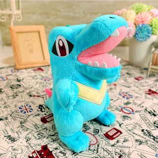 Pokemon Pokémon Small Saw Crocodile 15cm Down Wool Doll Doll Toy Doll Charm