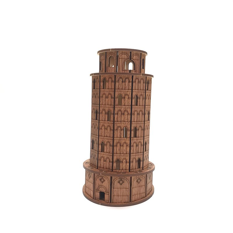 Leaning Tower of Pisa Pen Holder Pen Holder Small Toys