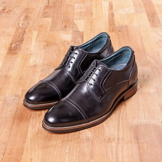 Vanger is high. Concise Cap-Toe Derby shoes Va254 black