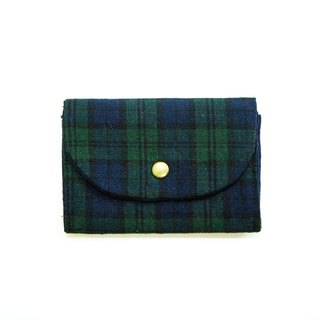 S,HU - Small wallet(multiple/checkered)