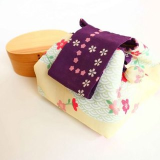 Sakura Bento bag / Japanese style lunch bag / Excluding Lunch box Birthday gift.