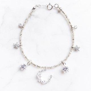 ::Xingyue Series:: (Deluxe Edition) Xingyue Silver Bracelet Anklet Dual-purpose Chain