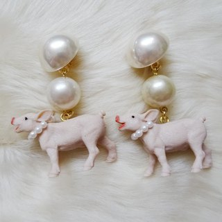 Sedmikrasky Sedmic Rusky Pigs Earrings