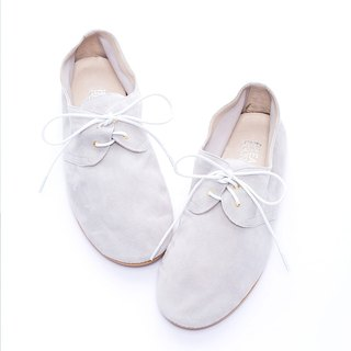 [BREAKING BOUNDARIES] plain classic puppet shoes - light gray -20170107