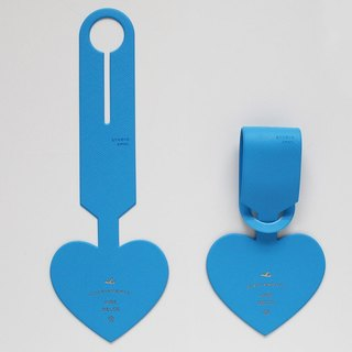 2Nul heart time love baggage tag - blue, TNL85137