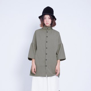 Corsage _ Awakening collar shirt Taiwan Design