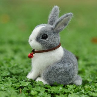 Exclusive Order - wool felt custom pet - rabbit