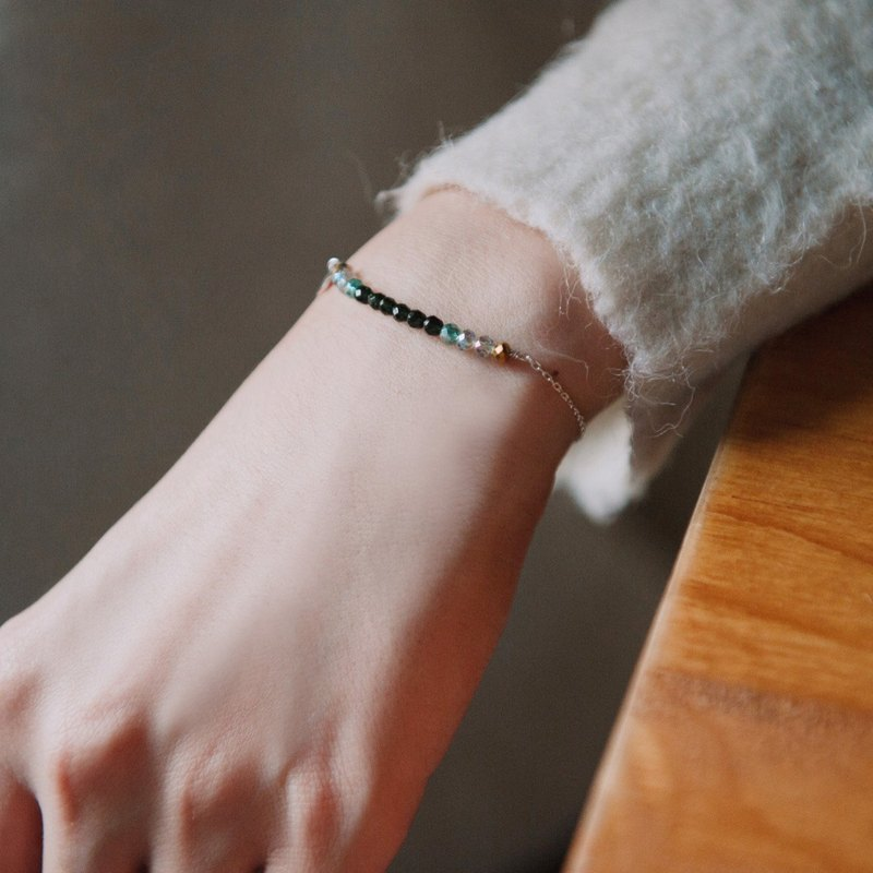 Mood bracelet / sterling silver-hope