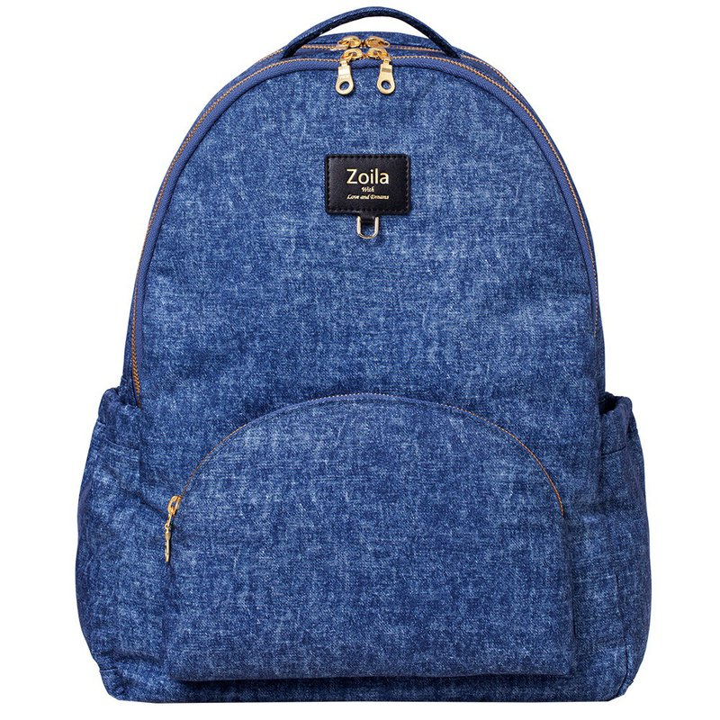 New Upgraded Version_Front and Rear Layering_Classic Denim Go Go Bag Mother Bag_Multifunctional Backpack