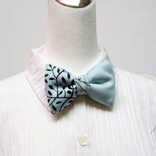 Paired handmade solid bow tie bow tie*SK*