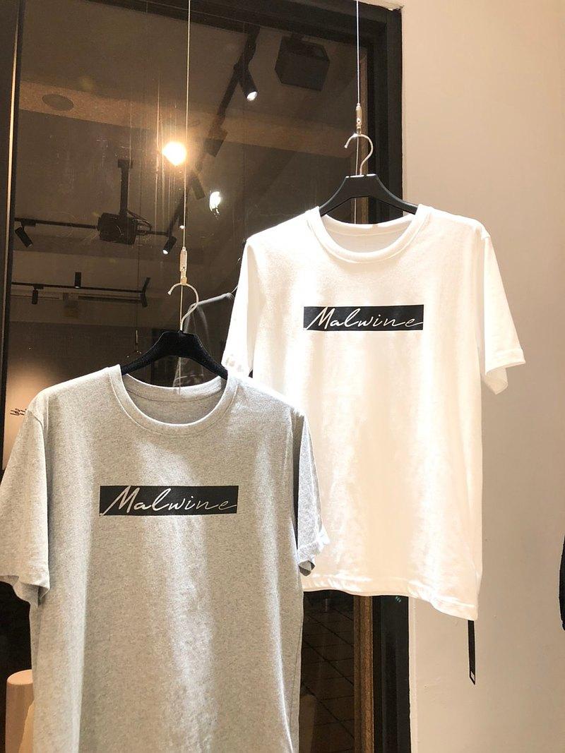 Malwine/素色純棉T恤