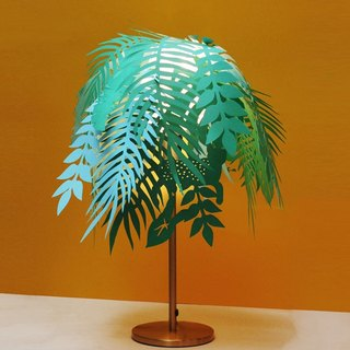 Tropical Jungle Island Lampshade