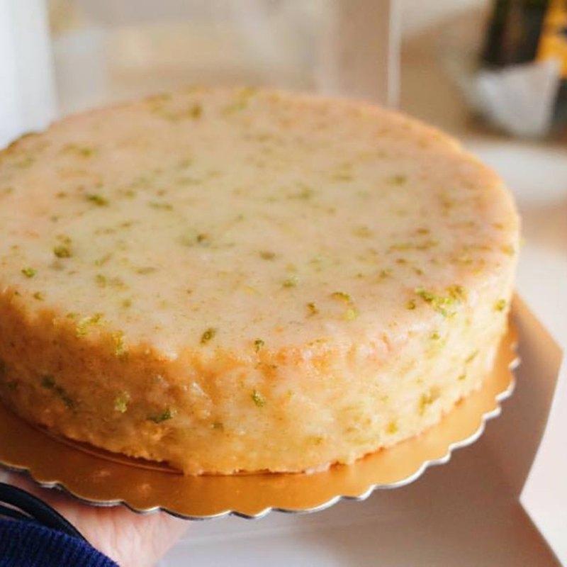 母親節蛋糕 檸檬糖霜蛋糕 不油膩減糖清爽