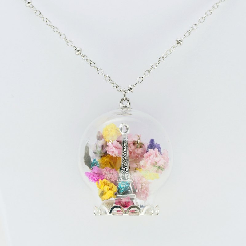 OMYWAY Handmade - Glass Globe Necklace