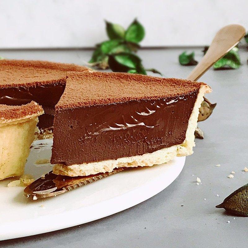 艾波索【可可巴芮生巧克力塔6吋】蘋果日報母親節蛋糕評比亞軍