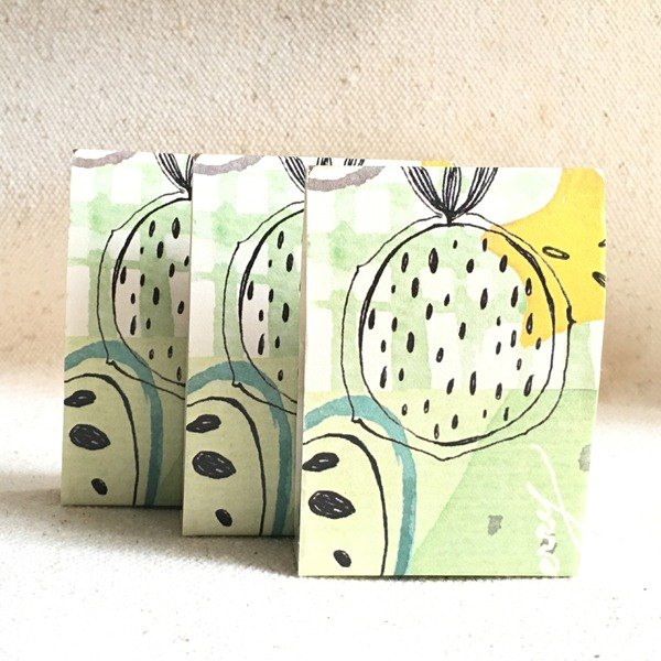 [Hoppy] Forest-Fruit2 fruit yellow paper tape / GTIN: 4713077970157