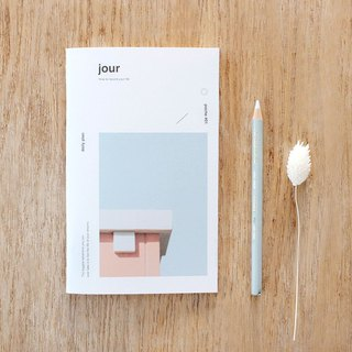 Dash and Dot French Style Pocket Notebook-01 Day Plan, DAD13841