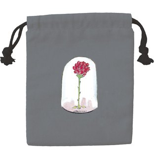 Little Prince Classic Edition - Color Drawstring Pocket - Roses in Glass Cover (Iron Gray), CB6AA09