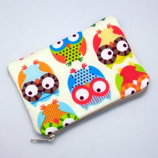 Zipper pouch / coin purse (padded) (ZS-133)