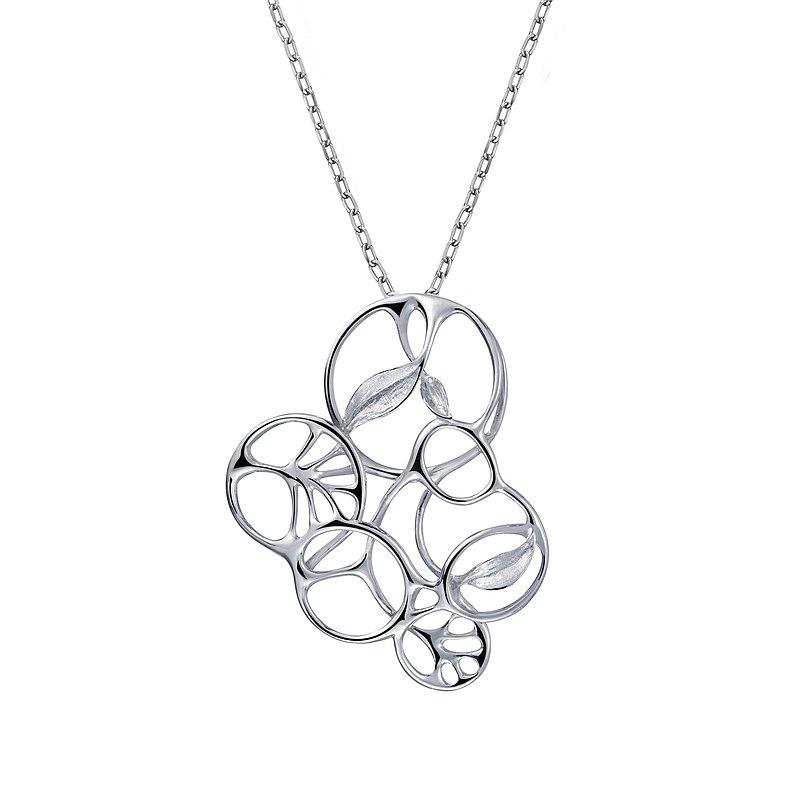 跳舞的風 - 32拍的華爾滋 項鍊 925銀 有三種配戴方式