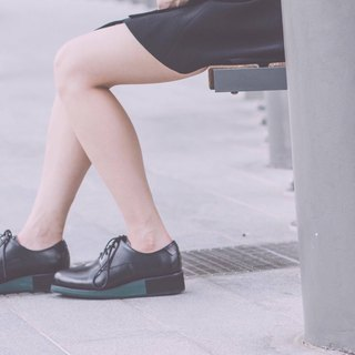 Placebo color matching platform shoes