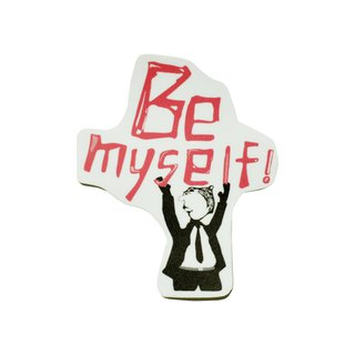 (Be myself) Li-good - Waterproof stickers, luggage stickers - NO.83