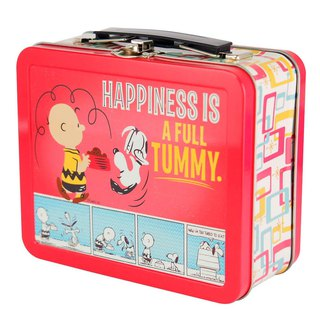Snoopy Lunch Box - Full of Happiness (Hallmark-Peanuts Snoopy Storage/Others)