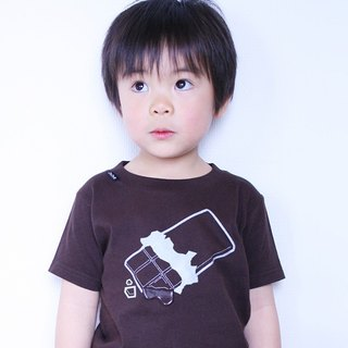 KIDS chocolate T-shirt