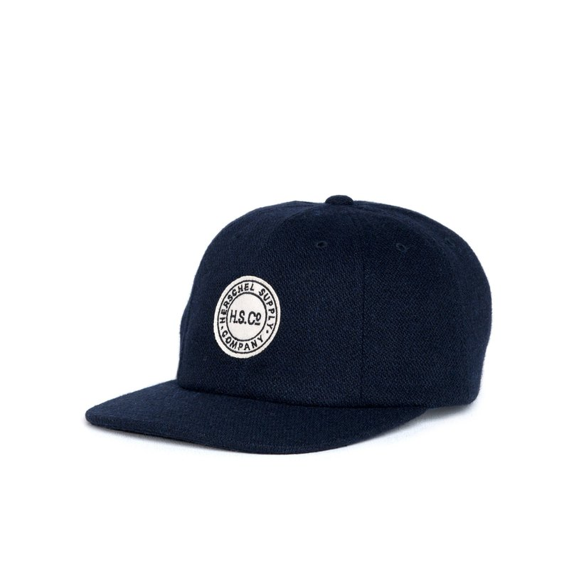 [Picks] Herschel GLENWOODGLENWOOD series LOGO wool baseball cap Canadian brand Unisex wear left last two