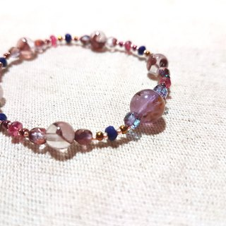 Dotdot | red ghost x red spinel x lapis lazuli x purple titanium crystal