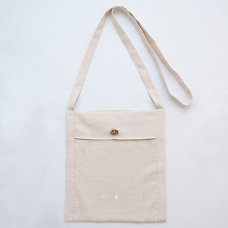 Basic item: Small linen bag (Oatmeal Color)