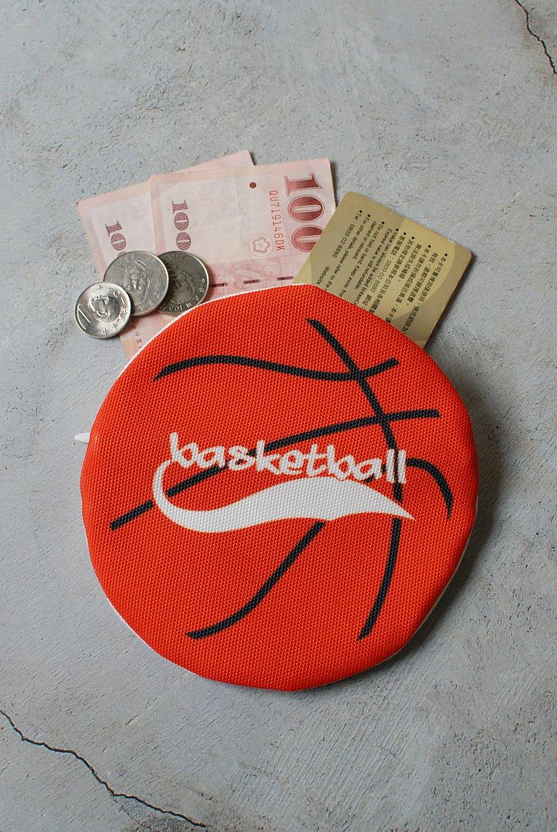 運動魂籃球零錢包