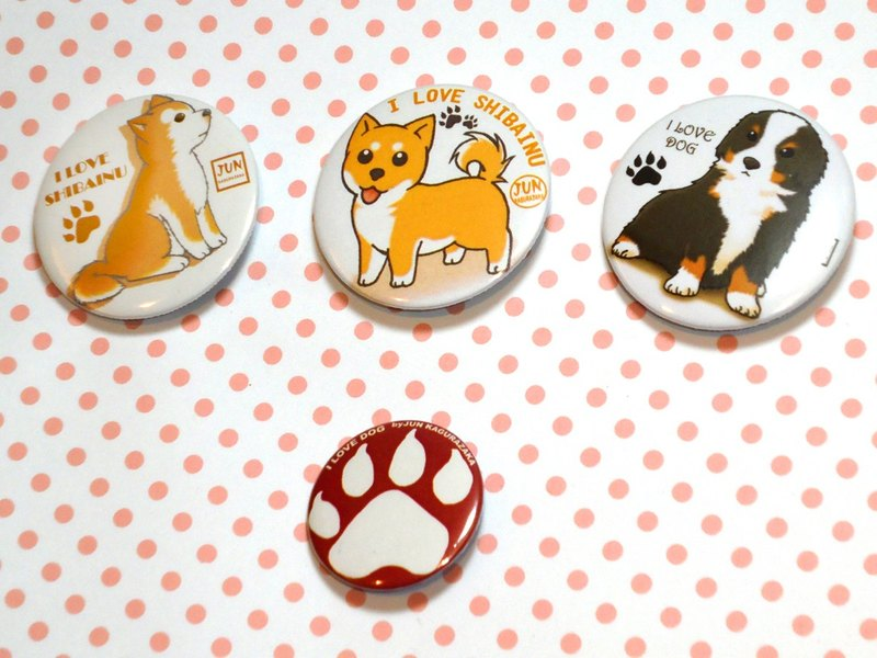 Badge~dog badge group