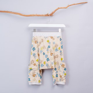 Flying Squirrel Pants - Hand-painted flowers Hand-made poisonous Flying Squirrel pants Children's clothing Children and young children