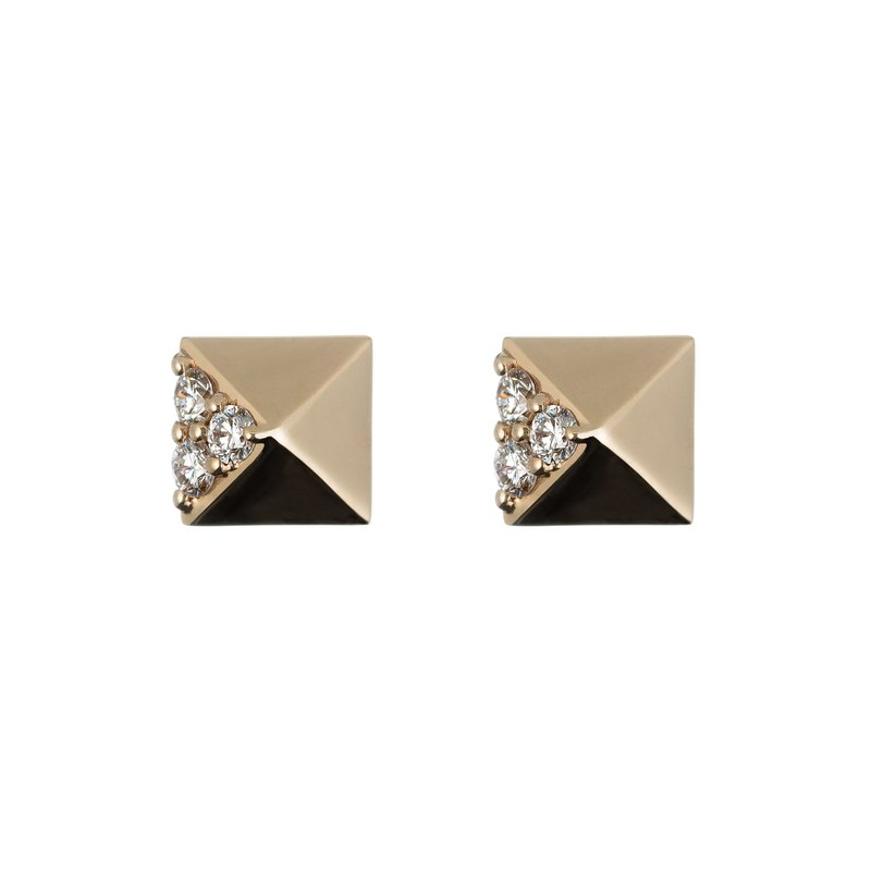 Classic OL rose gold earrings-OL gift first choice