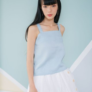 Spaghetti Strap Top in light blue