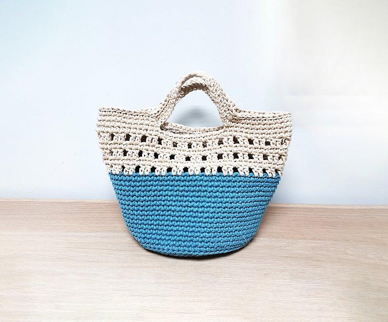 圓形底手挽袋材料包