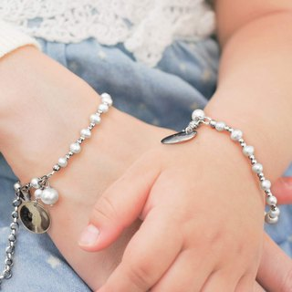 【happy. Beauty] sister chain parent-child chain | commemorative engraving | customized | gift |