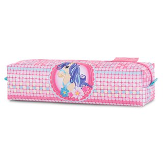 Tiger Family Little Aristocrat Simple Pencil Box - Cute Meng Pony