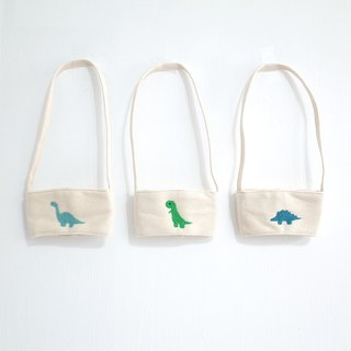 [Q-cute] hollow drink bag series - big cup area - dinosaur family