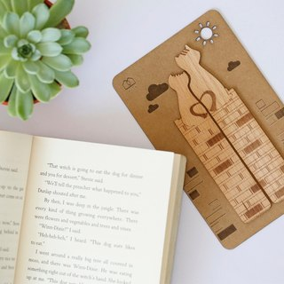 Together! - Wooden bookmarks (2 in) ─ [VUCA-Design] can be purchased