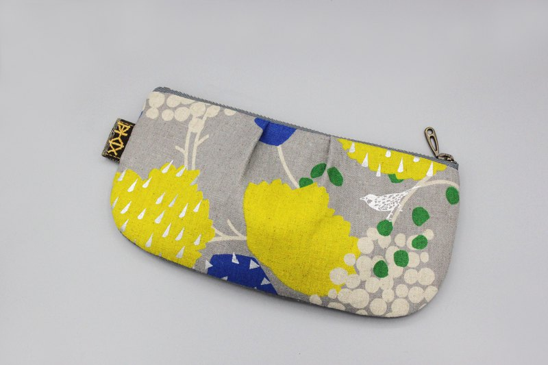Discontinued-Ping An Universal Bag-Bird's Fantasy Adventure Double-sided Two-tone Pencil Case, Cosmetic Bag, Storage Bag